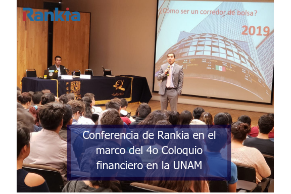 CONFERENCIA RANKIA, EDGAR ARENAS, UNAM, IMEF UNIVERSITARIO