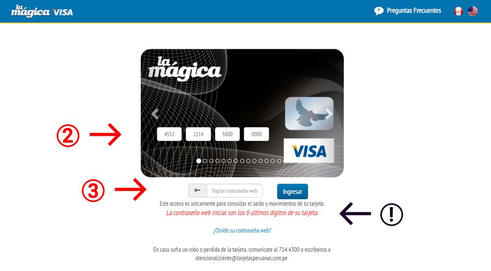 Tarjeta La Mágica Visa: solicitar, activar y ver saldo