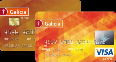 Mejores tarjetas de débito para 2021: Tarjeta Galicia Débito