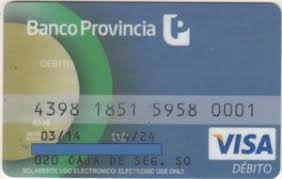 Mejores tarjetas de débito para 2021: Tarjeta Débito Banco Provincia