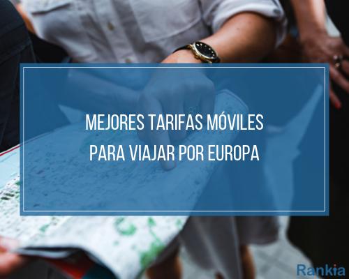 Mejores tarifas para viajar por Europa