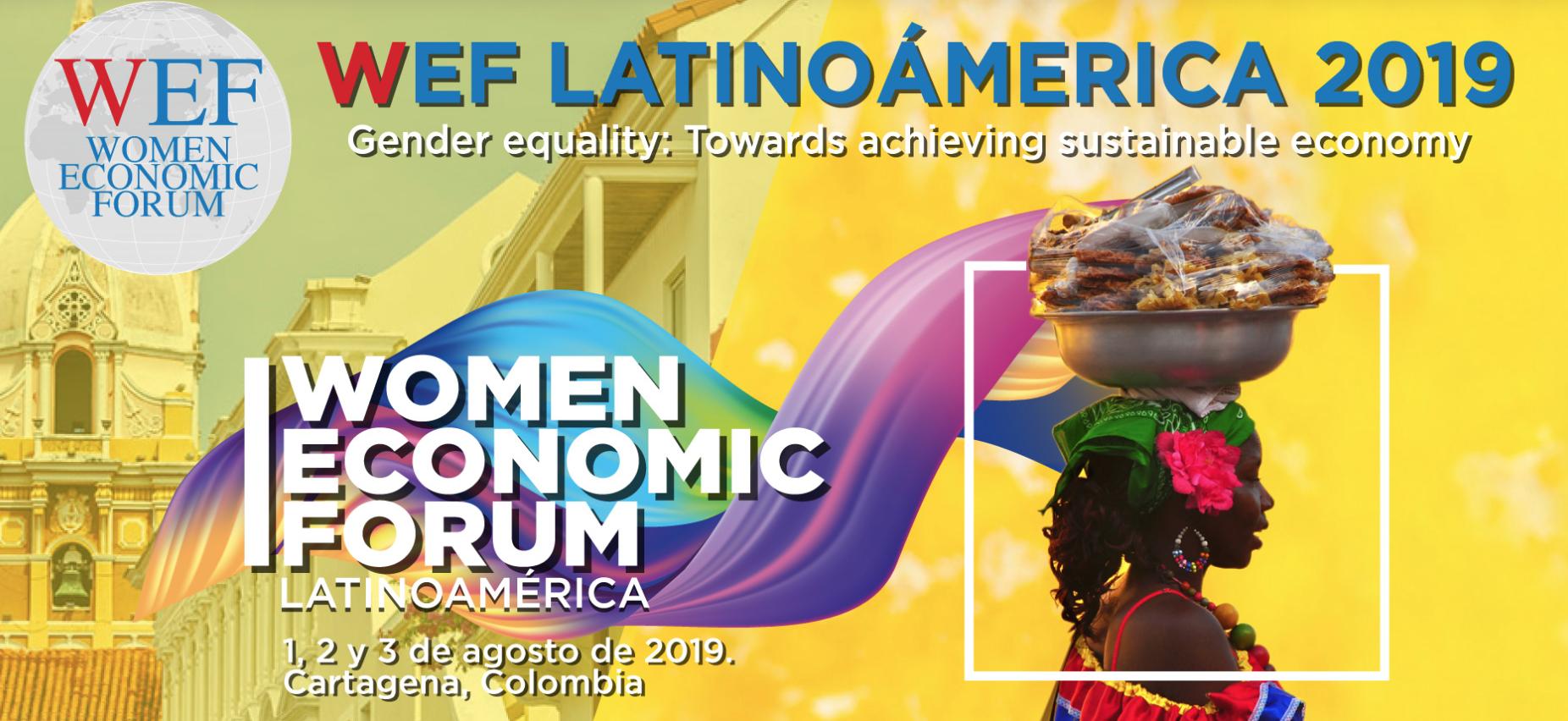 Women Economic Forum (WEF) en Cartagena de Indias