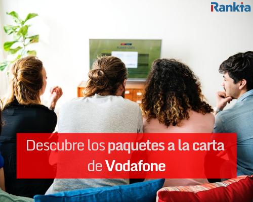 Descubre los nuevos paquetes de televisión a la carta de Vodafone