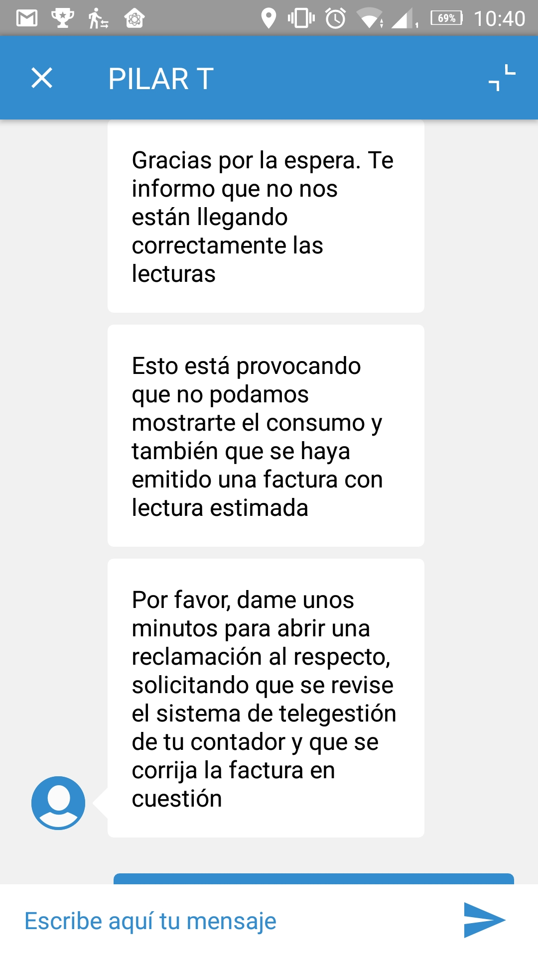 Chat con Endesa