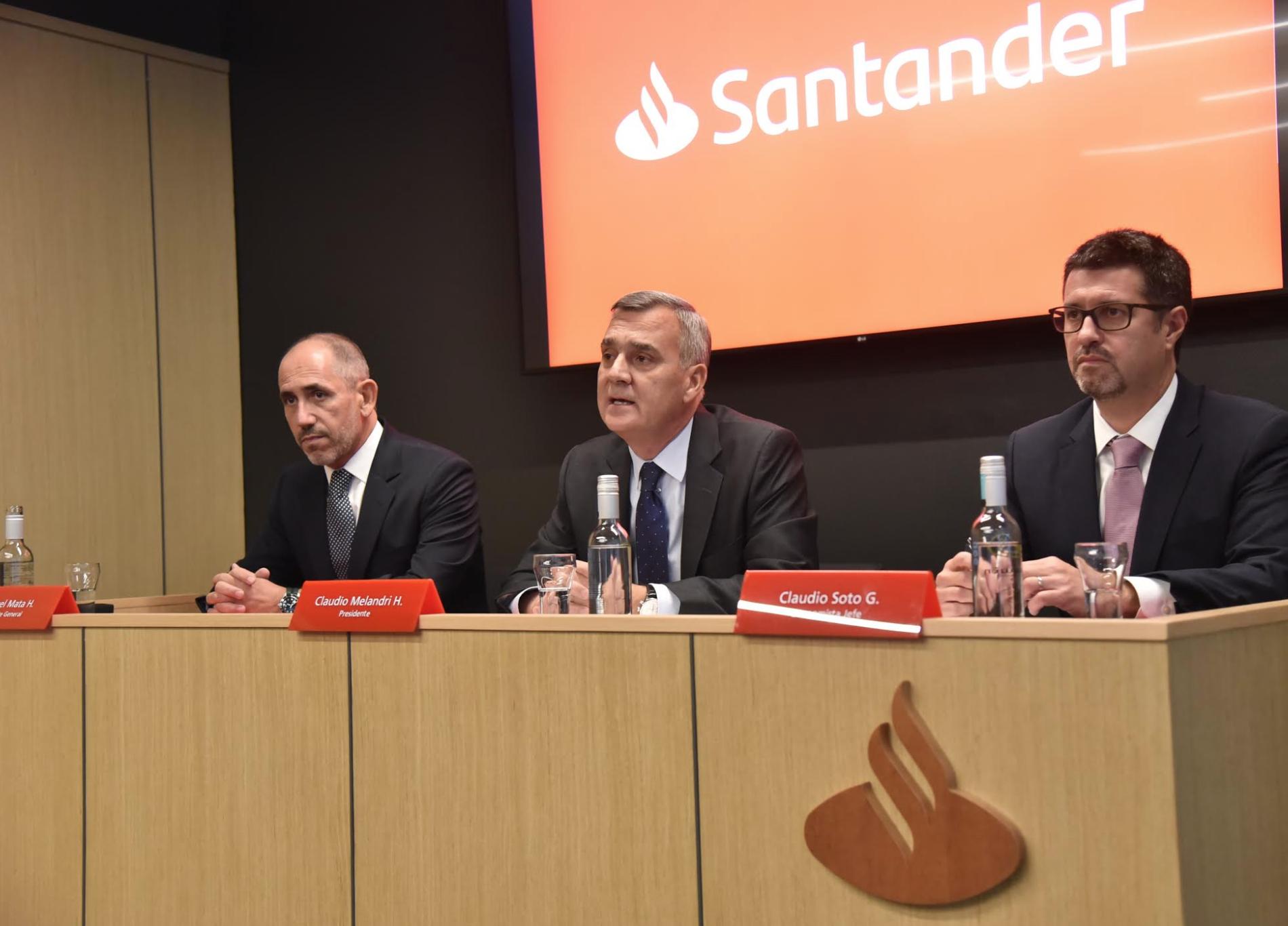 Resultados de Banco Santander Chile en 2018