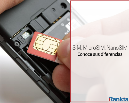 Diferencias entre SIM, MicroSIM, NanoSIM