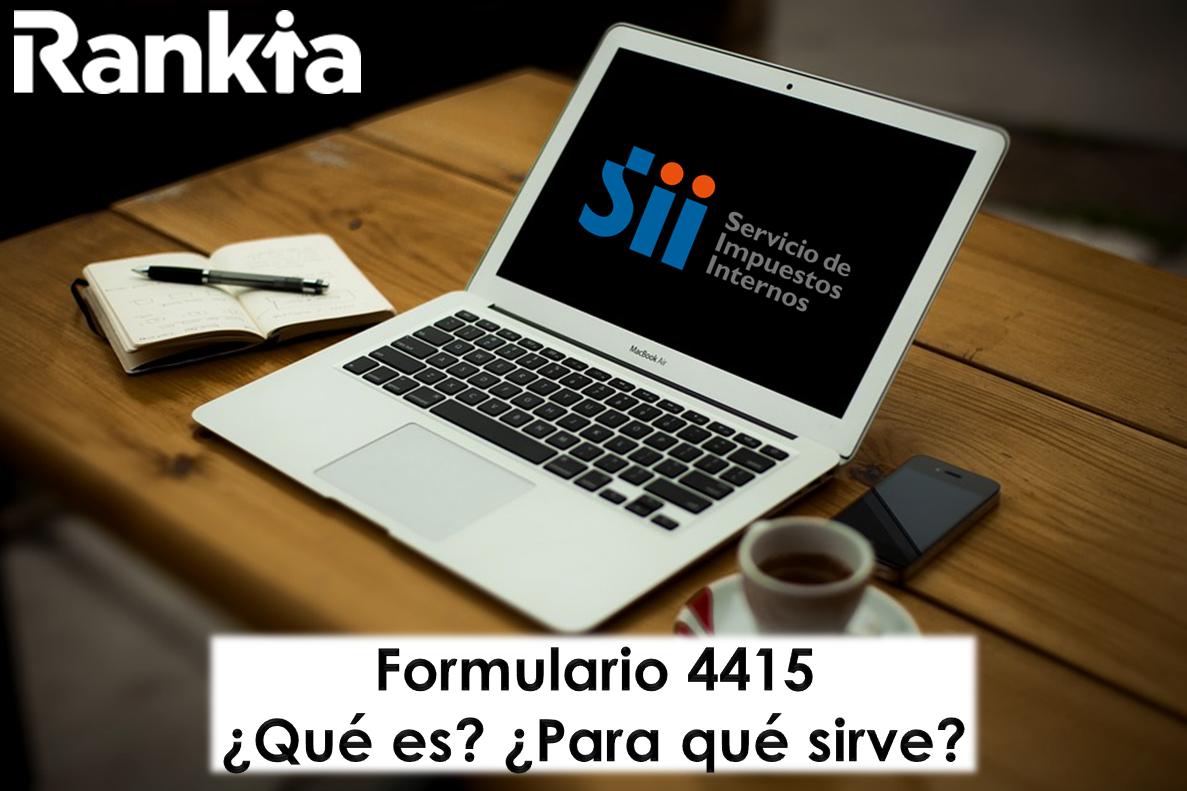 ¿Qué es y para qué sirve el formulario 4415?