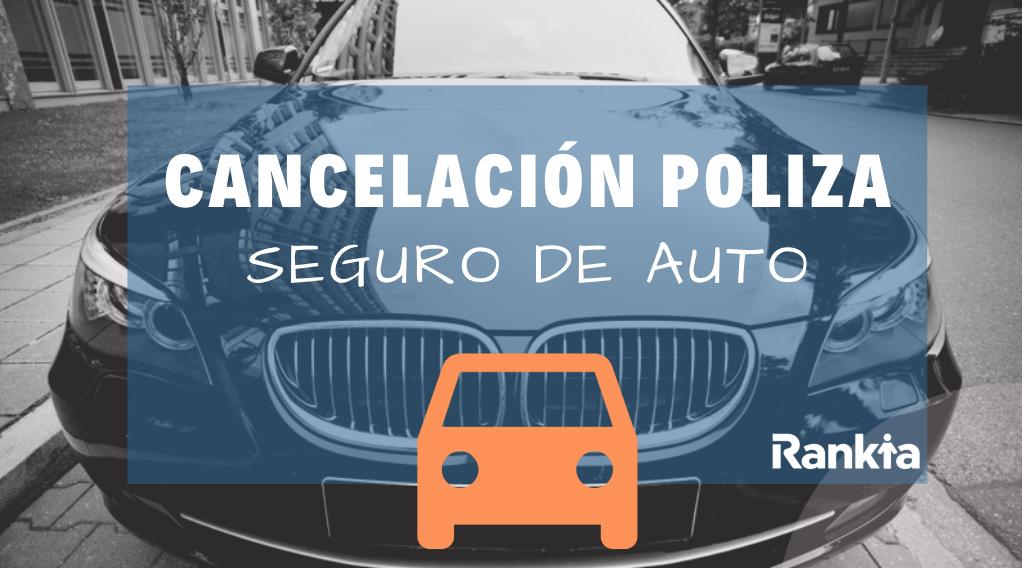 Cancelación de póliza de seguro de auto: carta, motivos y solicitud