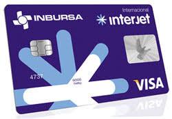 Tarjeta de crédito Interjet Inbursa