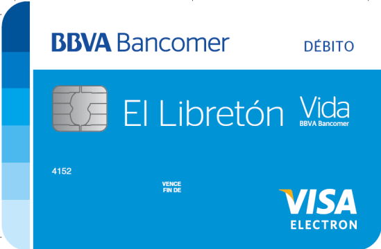 Tarjeta débito BBVA Bancomer: Tarjeta básica Bancomer