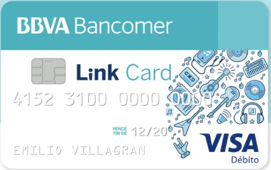 Tarjeta débito BBVA Bancomer: Link Card