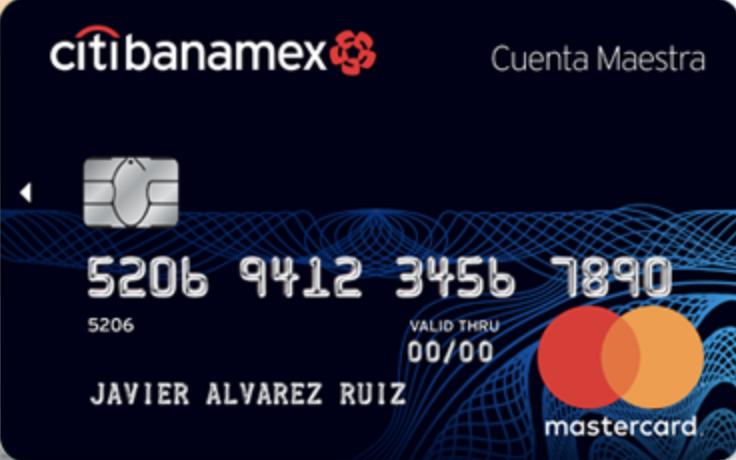 Tarjeta débito Citibanamex: Cuenta Maestra