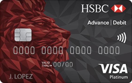 Tarjeta de Débito HSBC Advance Platinum: Cuenta HSBC Advance