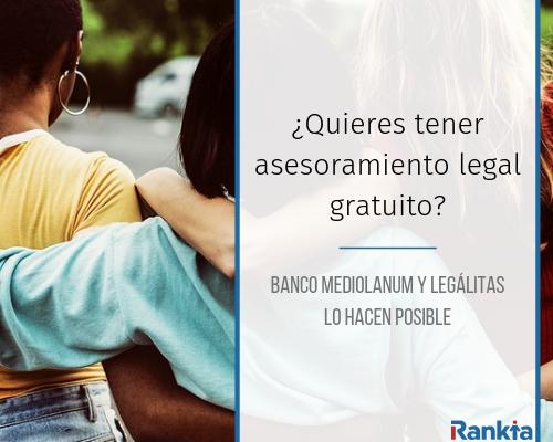 Servicio de Asesoramiento Legal para jóvenes de Banco Mediolanum y Legálitas