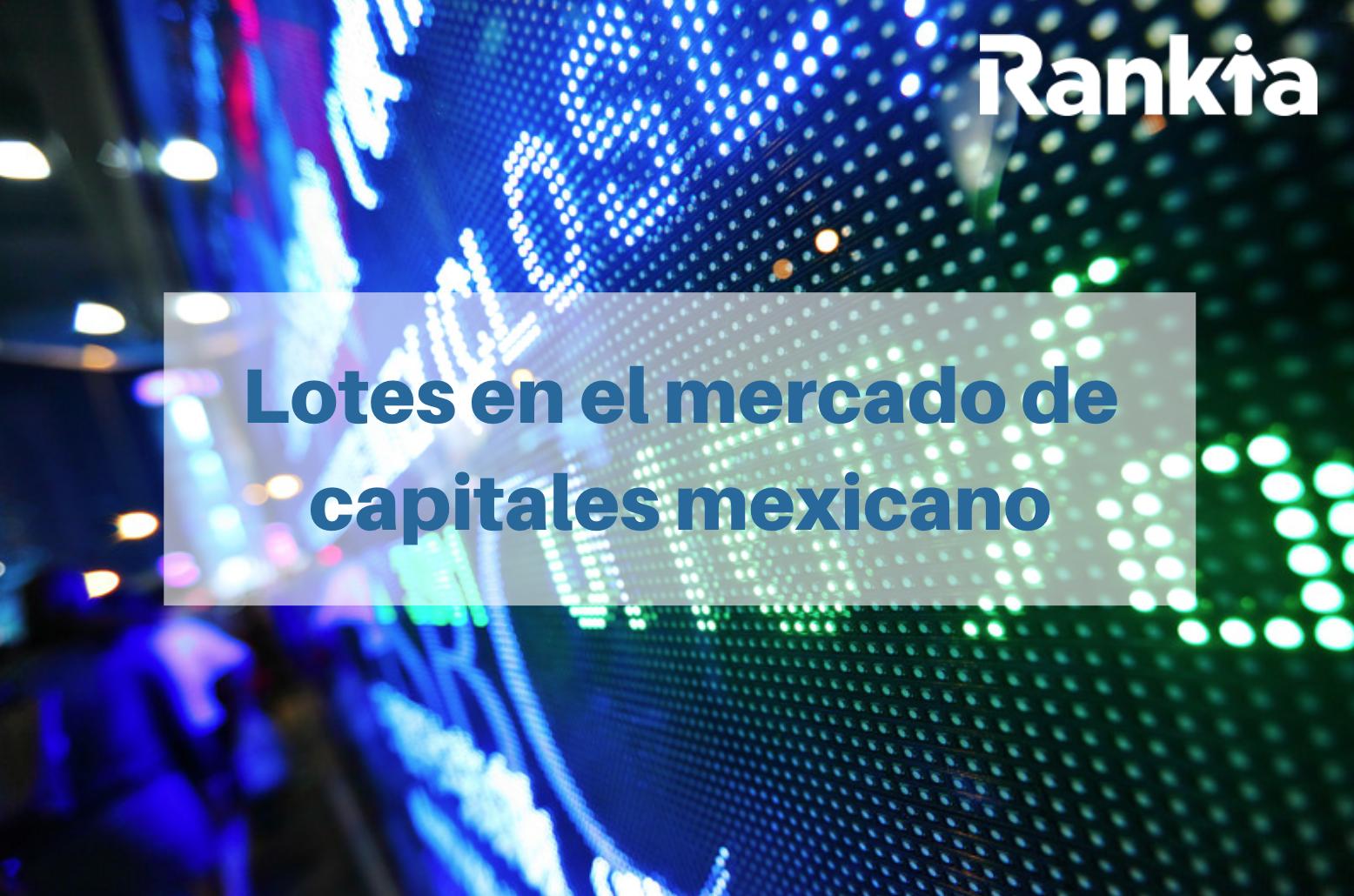 Lotes mercado de capitales