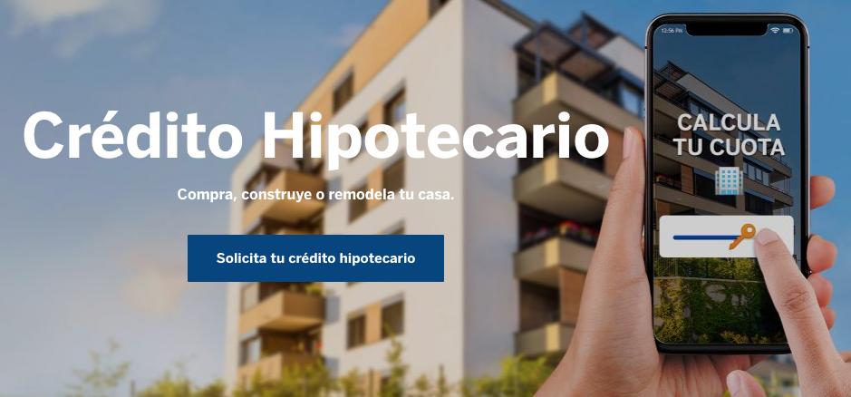 Mejores créditos hipotecarios BBVA Continental