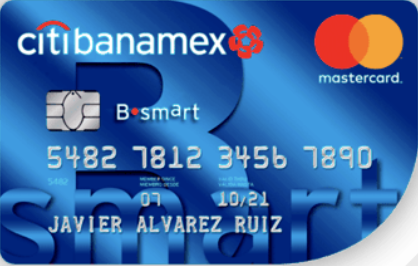 Tarjeta de Crédito B•smart Citibanamex