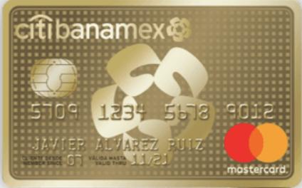 Tarjeta de Crédito Oro Citibanamex
