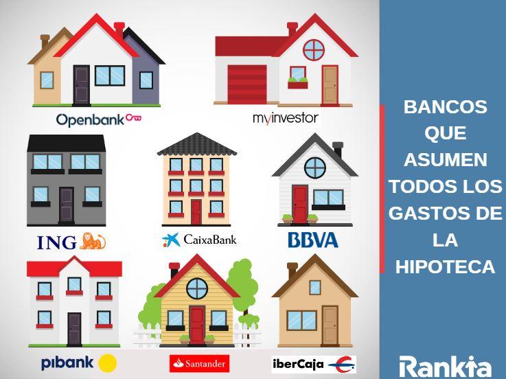 8 bancos asumen gastos hipoteca