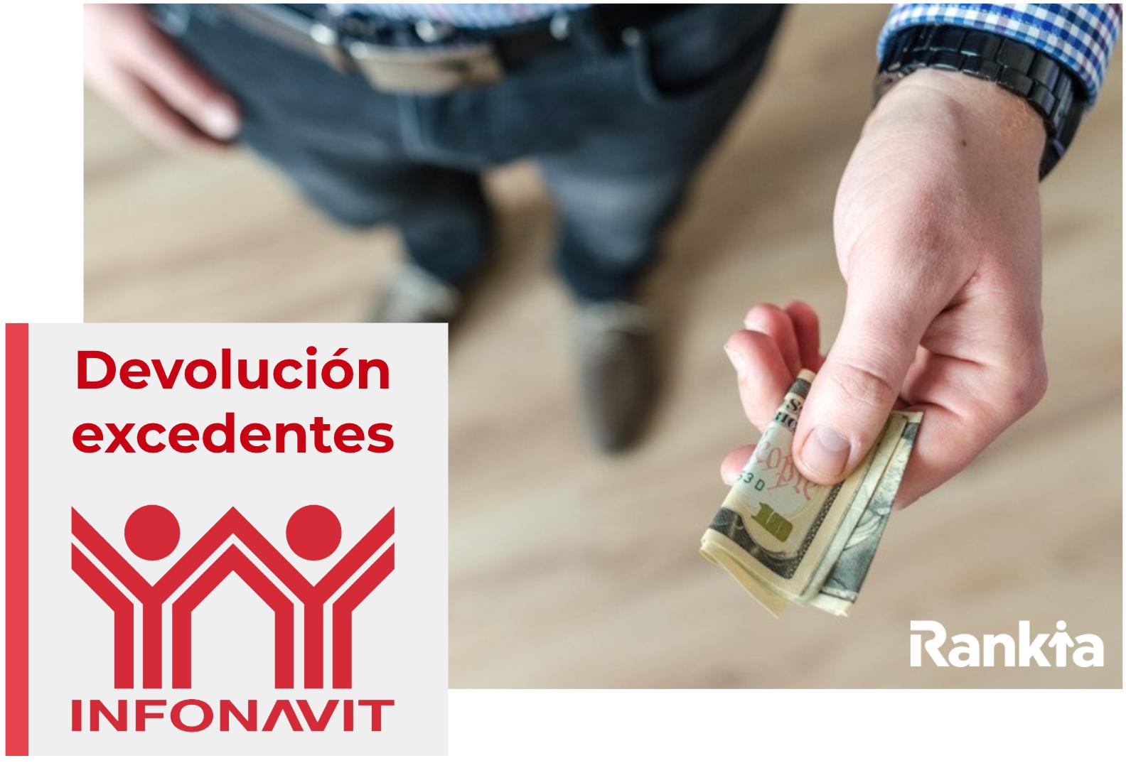 Devolución de excedentes de pago de Infonavit
