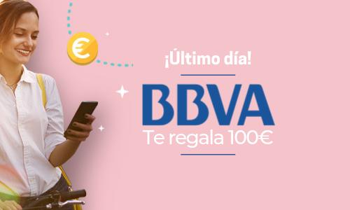 BBVA te regala 100€ por domiciliar tu nómina