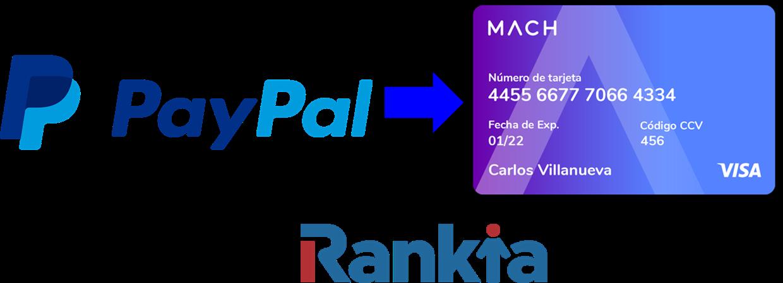 ¿Cómo transferir de PayPal a MACH?