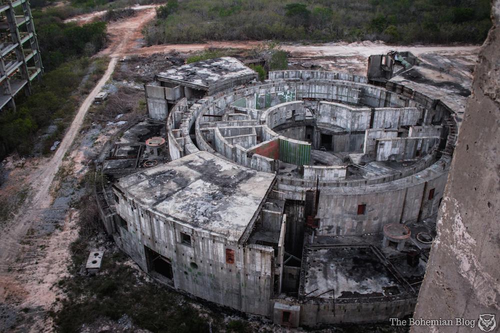 central nuclear juraguá abandonada