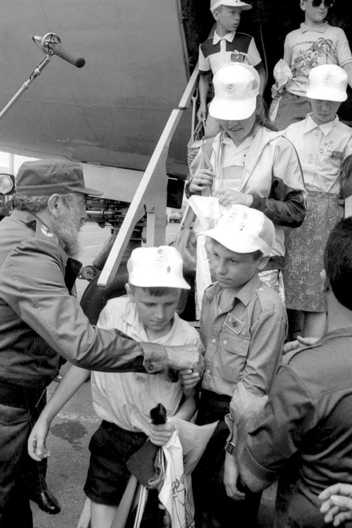 niños de chernobyl