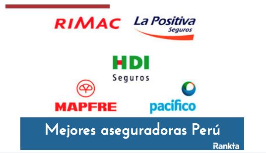 Mejores aseguradoras del Perú