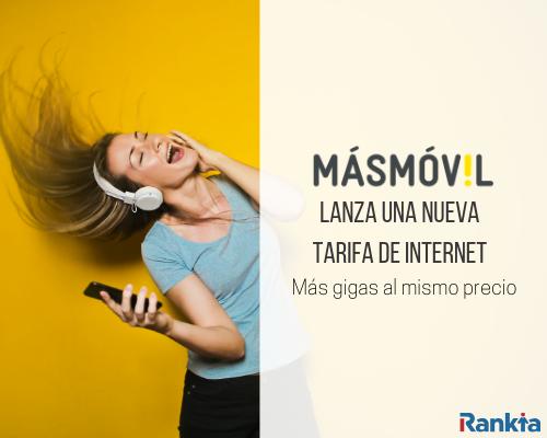 Nueva tarifa de Internet y móvil de MásMóvil
