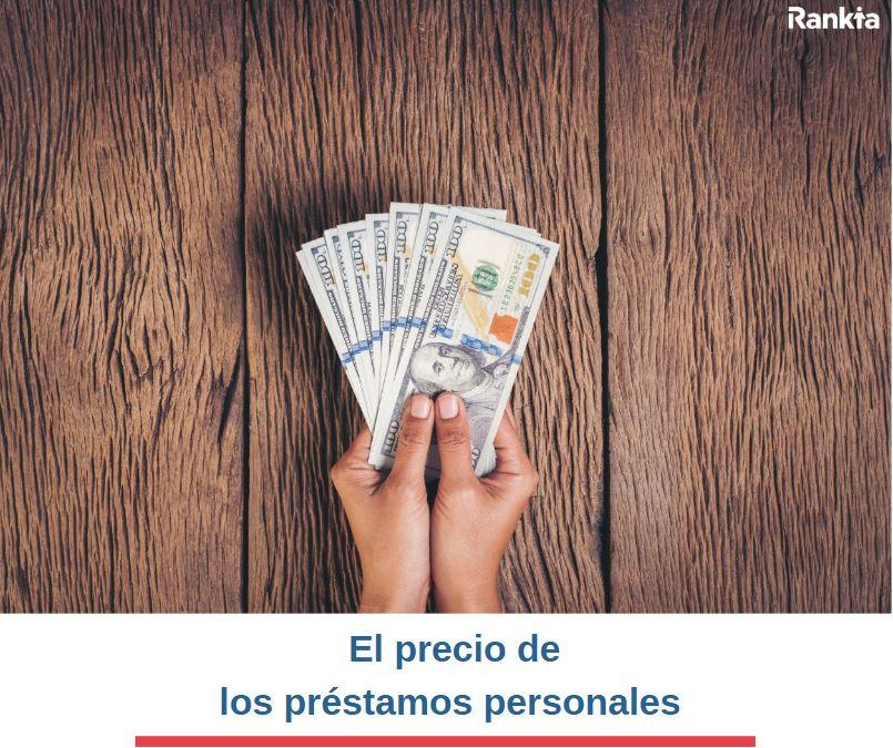 cual es el precio de un préstamo personal