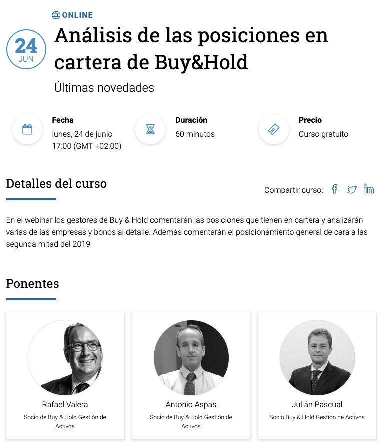 Webinar Buy&Hold