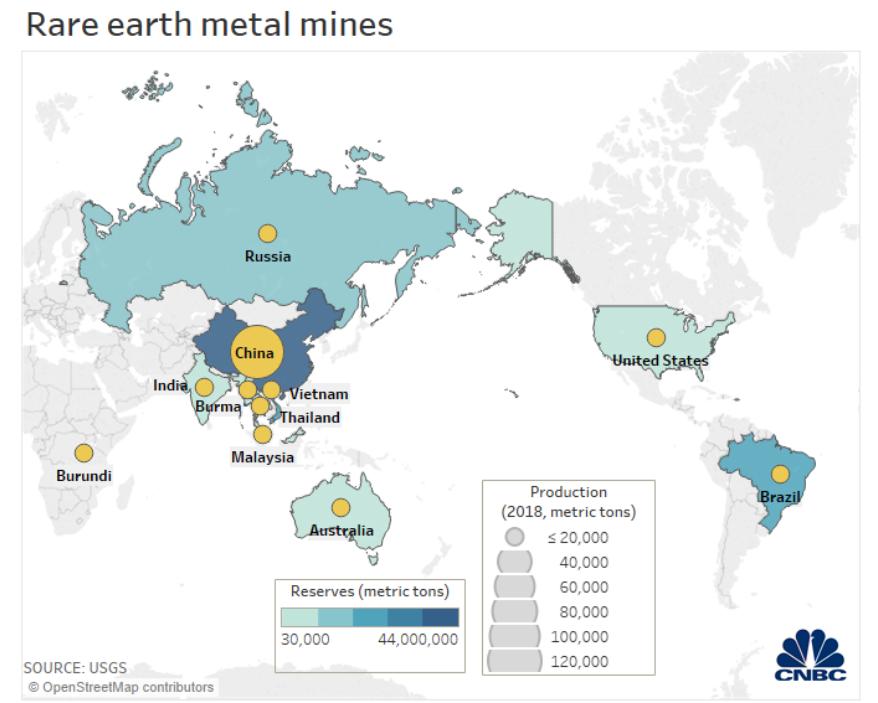 tierras raras minas