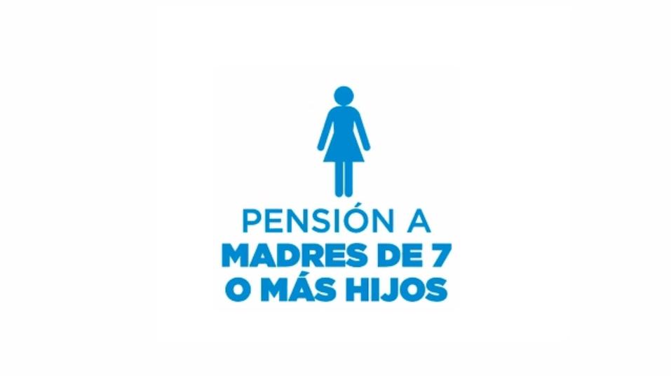 Pensión para madres de 7 hijos - ANSES