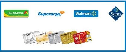 Retira efectivo (dinero) de tu cuenta Banorte en Walmart