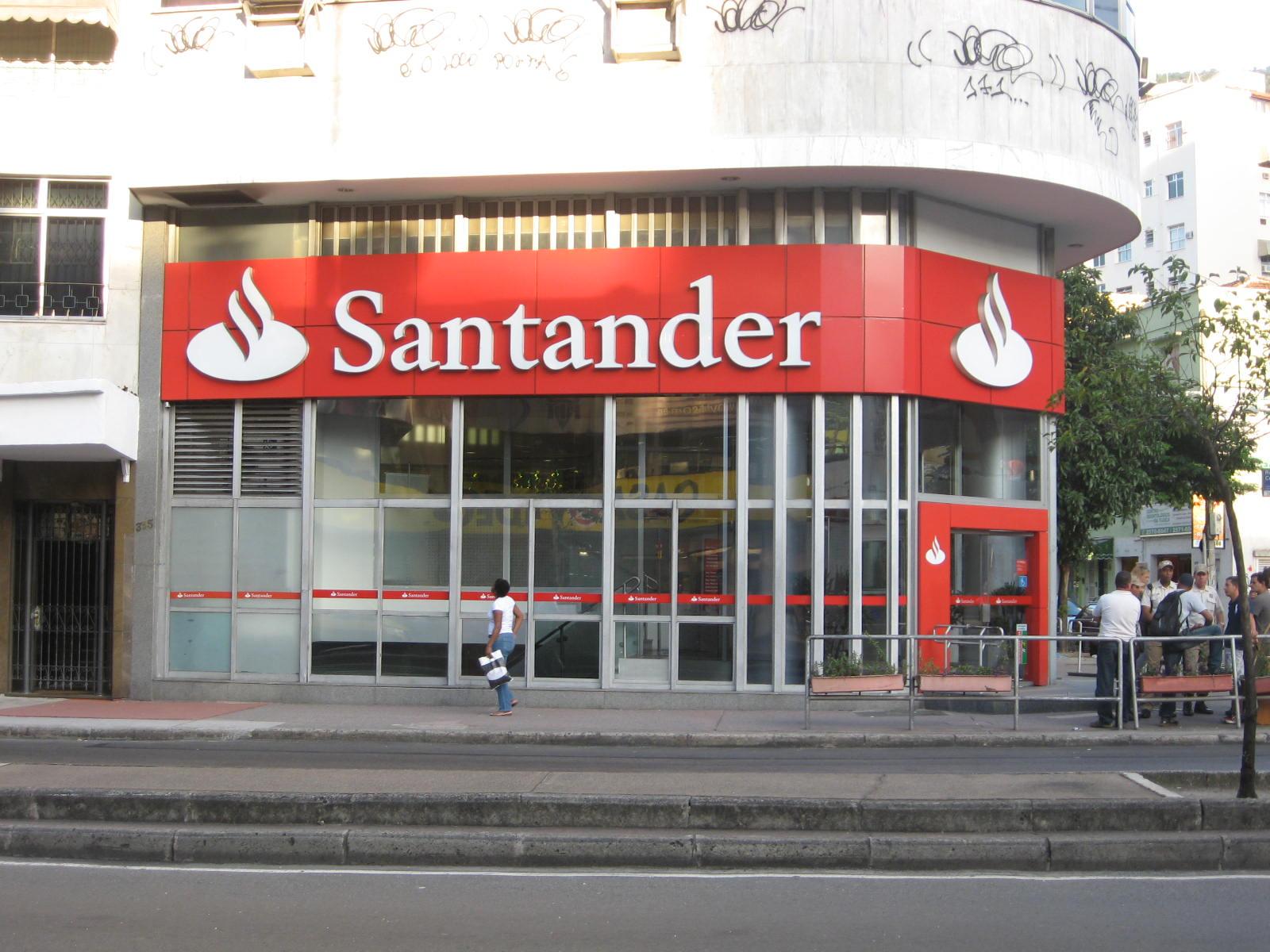 banco santander oficina