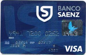Tarjeta Saenz Visa: requisitos, beneficios, consulta de saldo
