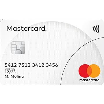 Tarjeta Mastercard Standard: solicitar, beneficios y comisiones