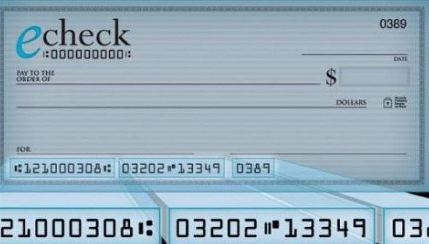 ¿Qué es y cómo funciona el cheque electrónico?