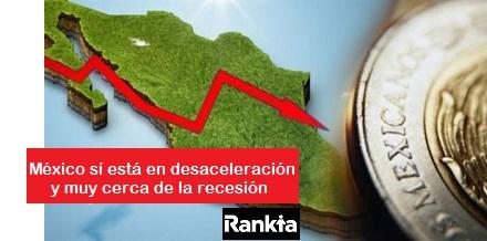 Diferencia entre recesión y desaceleración económica