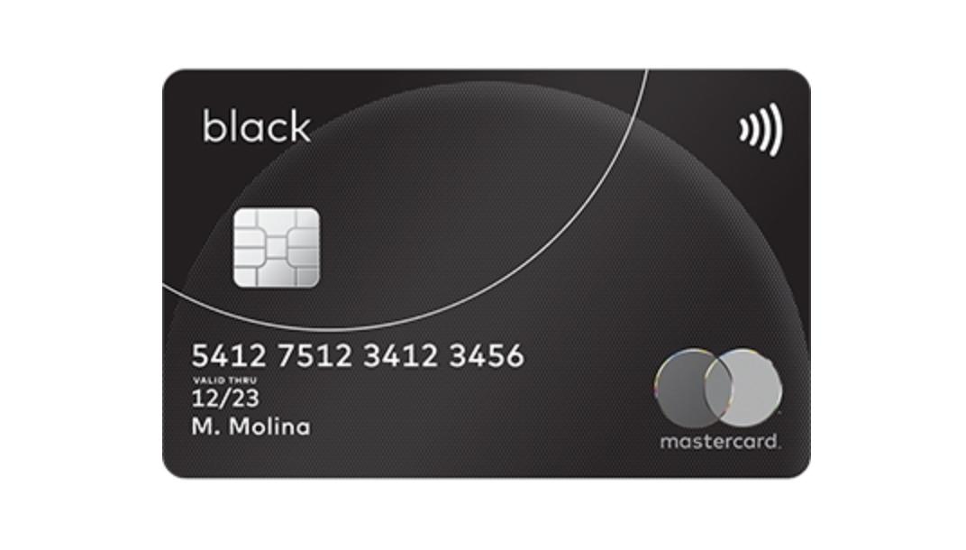 Mastercard Black: solicitar, beneficios y comisiones
