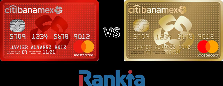 Tarjetas de crédito Citibanamex: Clásica vs Oro
