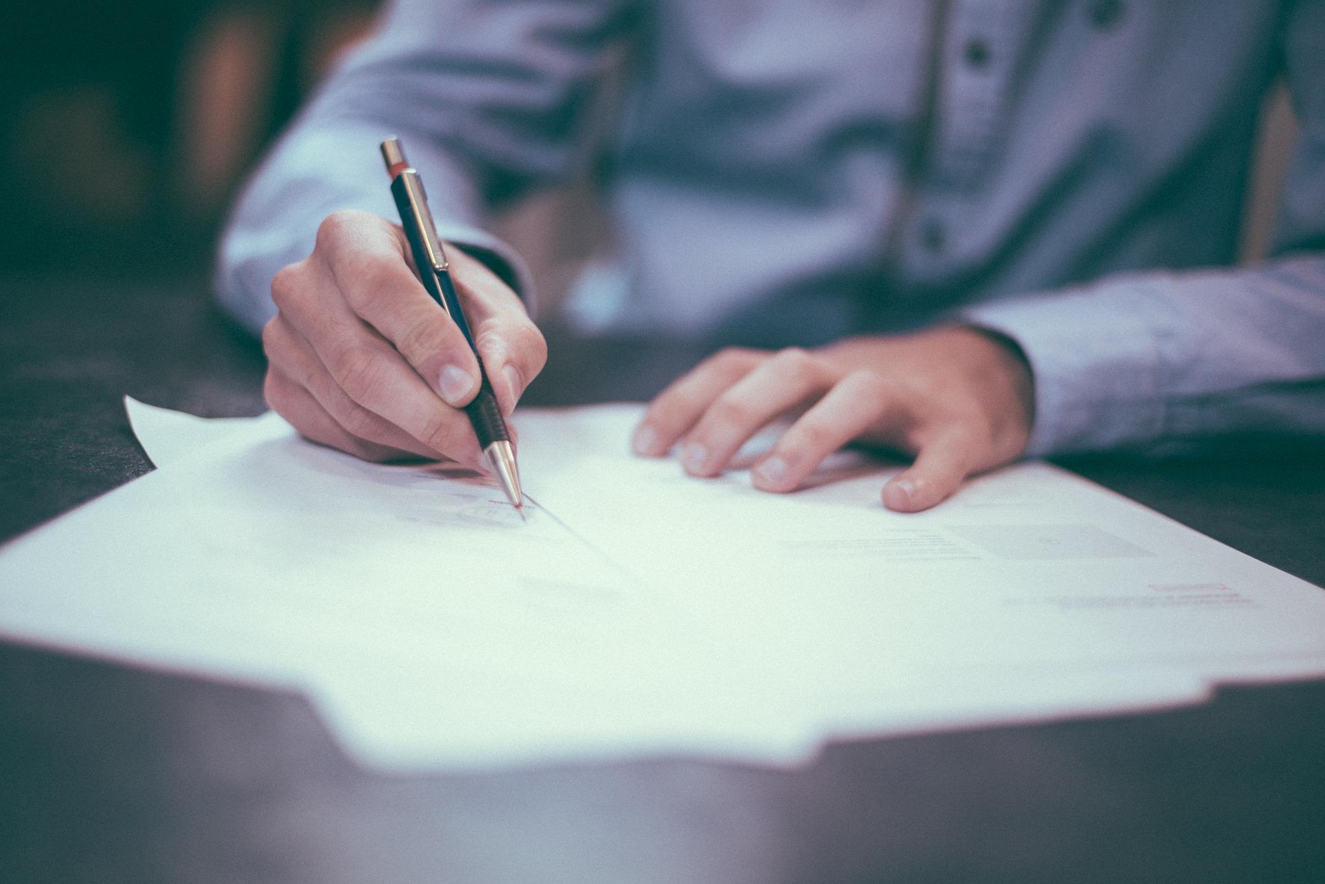 Documento para cobrar seguro de cesantía