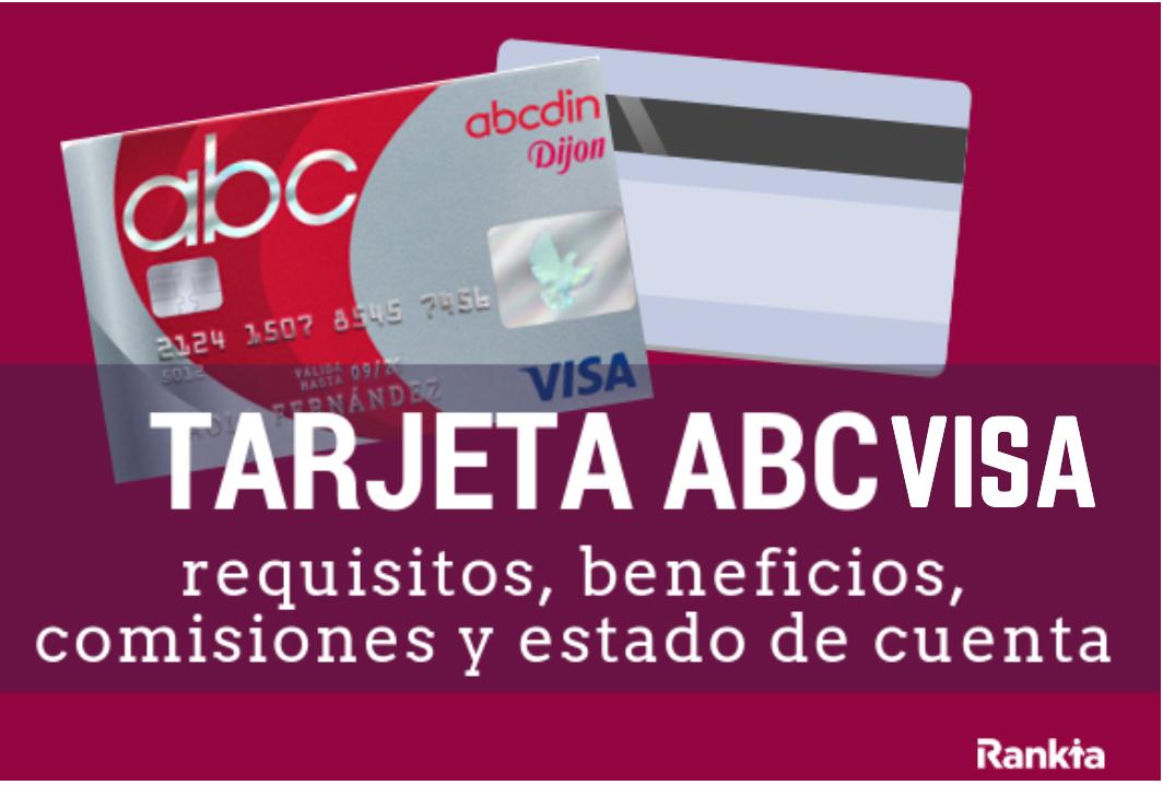 Tarjeta Abcvisa de Abcdin: requisitos, beneficios, comisiones y estado de cuenta
