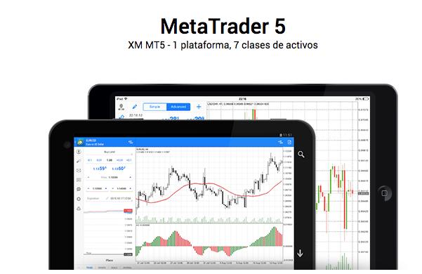XM: Plataformas, MetaTrader 5