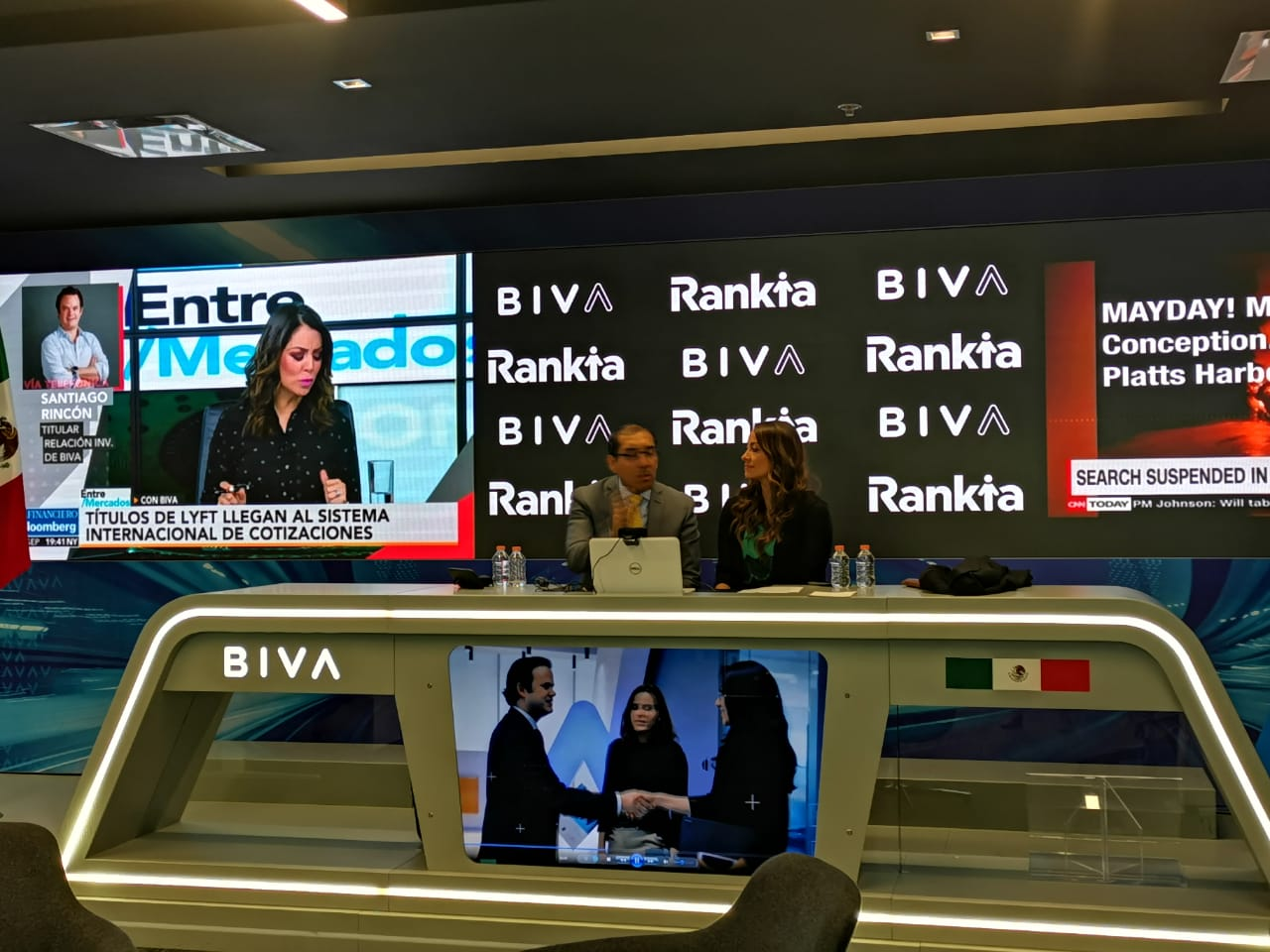 Edgar Arenas, Rankia,BIVA, Daniela Calleja
