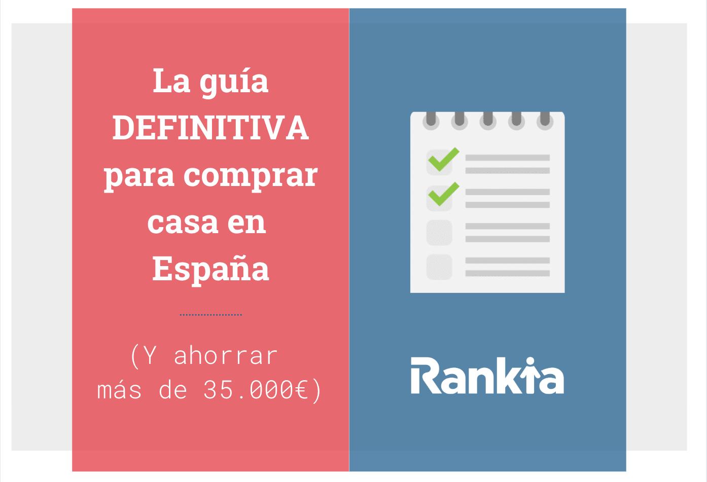 Guía comprar casa España