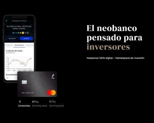 Fundsfy el neobanco pensado para inversores