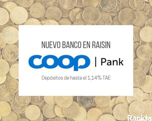 Coop Pank: Nuevo banco en Raisin