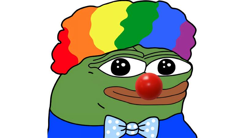 El payaso Pepe es un meme que se usa para denotar el mundo payaso